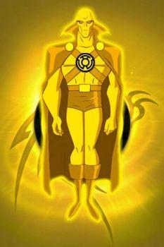 Yellow Lantern Martian Manhunter