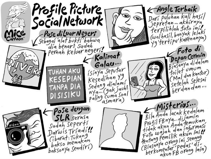 Profile Picture di Social Network haha.. (Mice Cartoon)
