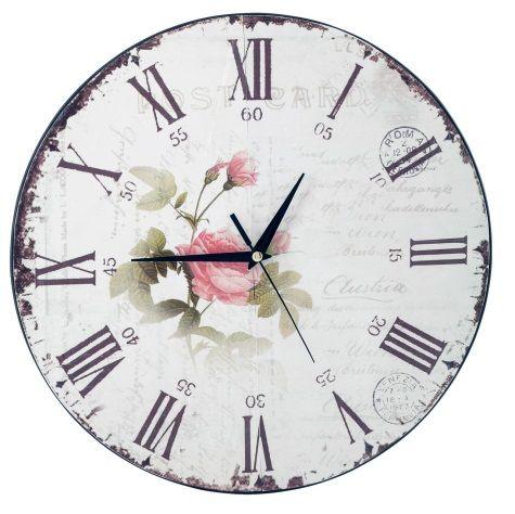 Foarte chic, acest ceas da un aer boem interiorului.  Ceas Basic Romance, 74,99 lei. #kikaromania #ceas #romance #desing #french