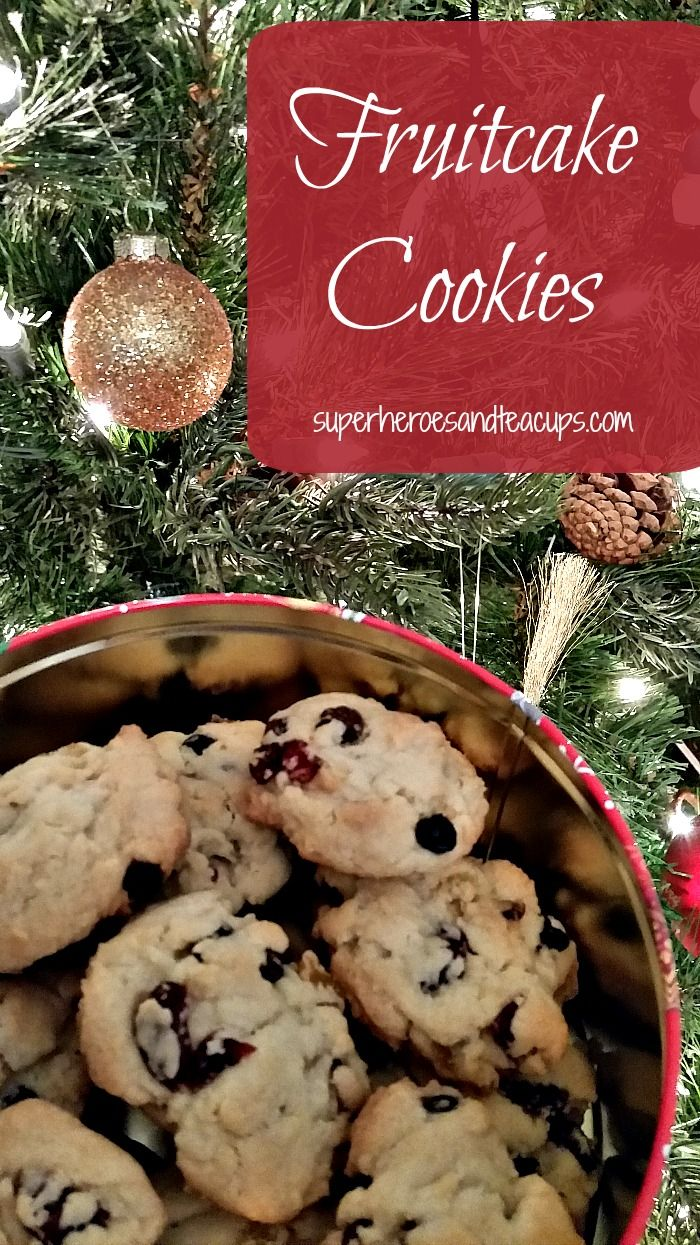 A delicious recipe for fruitcake cookies that your whole family will love.