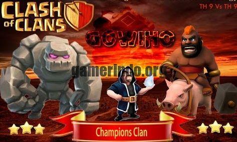 Cara WAR COC Level TH9 Dengan Menggunakan Pasukan GOWIHO – Clash of Clans atau sering kita sebut COC, sekarang ini merupakan salah satu game yang cukup banyak diminati oleh pencinta game atau bahkan orang-orang