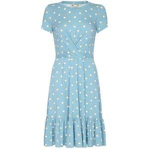 For the Jenny Packham Cornflower Blue Polka-Dot Dress