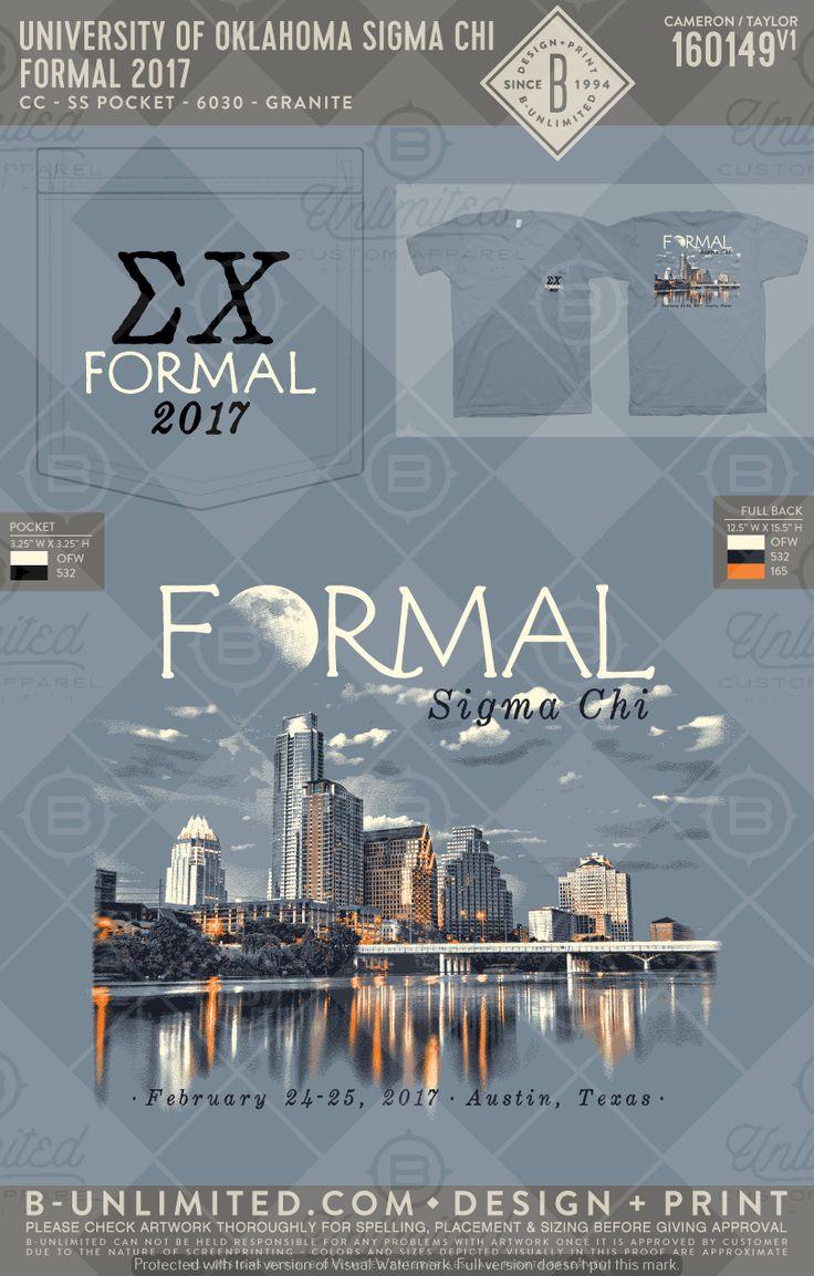 Formal | Shirt Design | Greek Life | Sorority | Fraternity| Greek | Greek Tshirts | T-Shirts