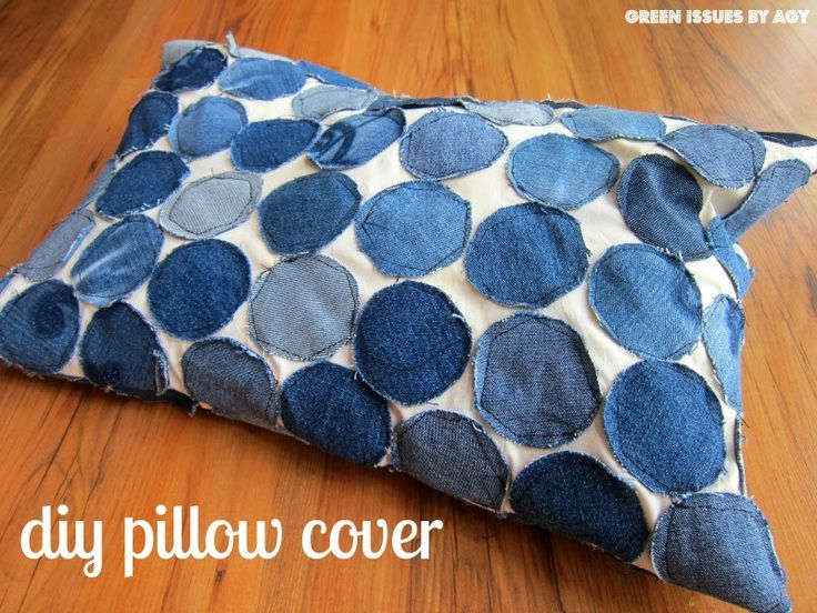 Create a Pillow Cover From Your Clothes & 25+ unique DIY upcycled shirts ideas on Pinterest | DIY upcycled ... pillowsntoast.com