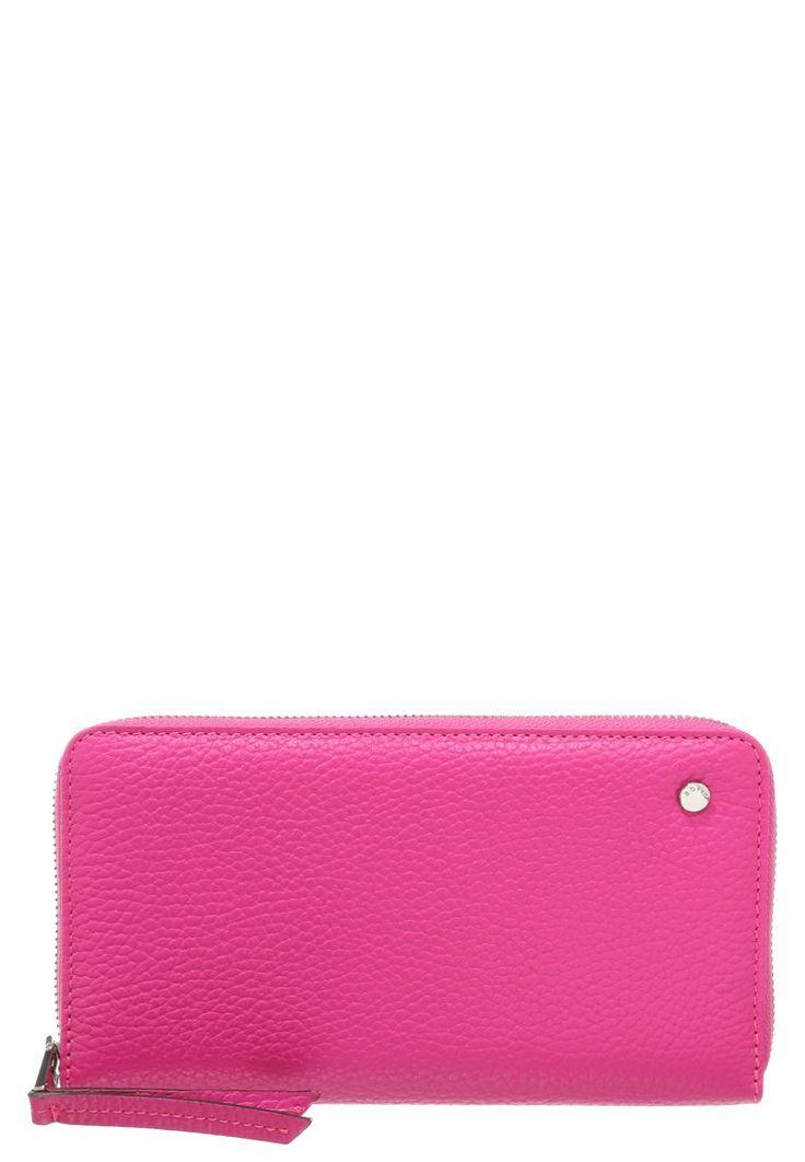 Abro Portfel podłużny różowy pink