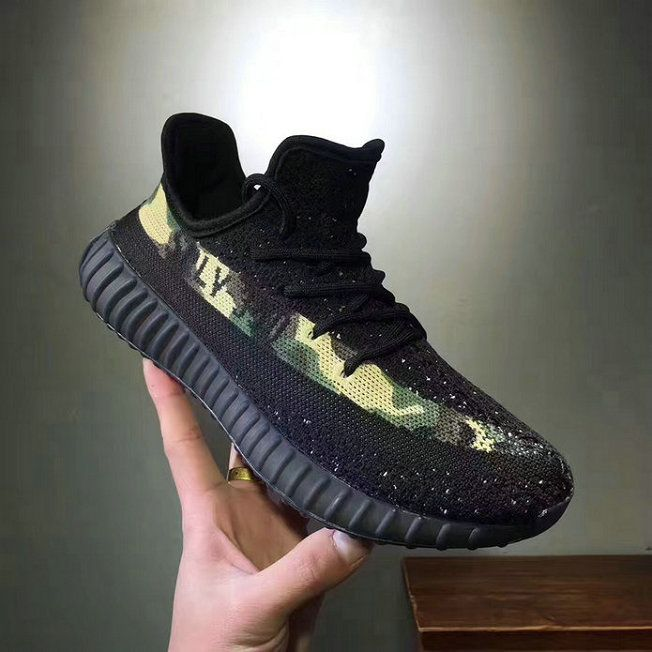 2018 Shop 2018 New Adidas Yeezy 350 V2 DIY Core Black Camo