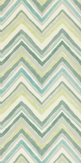 Design name: Zigzag  Colour: Aqua/Chartreuse