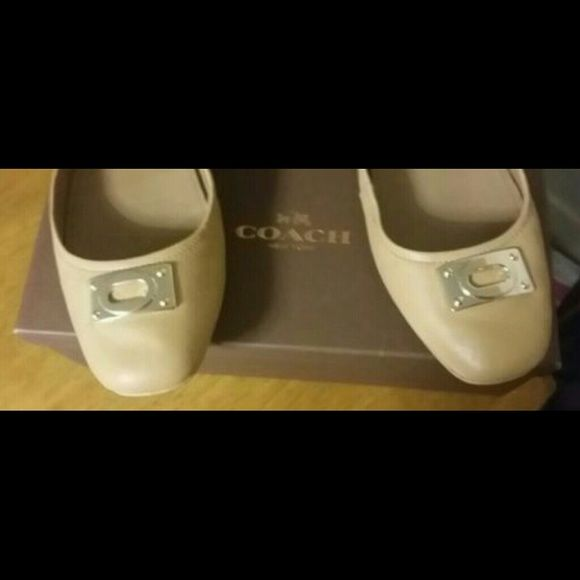 Coach womens tan leather loafers size 11M Brand new in box. Super soft and comfortable leather loafer. Coach Shoes Flats & Loafers