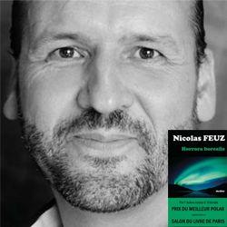 """Dédicace de Nicolas Feuz pour son livre """"Horrora Borealis"""" http://www.lacombe.ch/dedicace-de-nicolas-feuz-pour-son-livre-horrora-borealis.html"""
