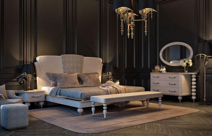 Les 42 meilleures images du tableau zebrano mobilya yeni for Chambre a coucher zebrano