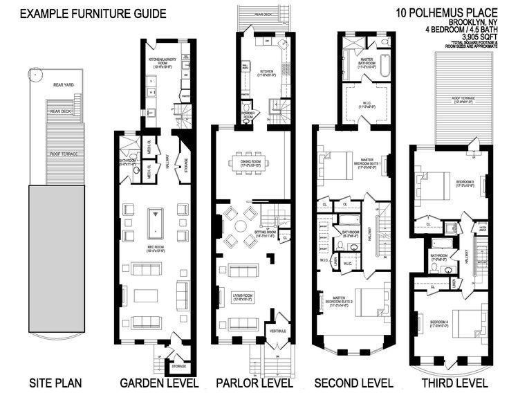 8 best Floor plan images on Pinterest 34 beds Apartment floor