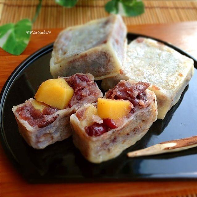 栗の甘露煮入りできんつば作りました♡ - 18件のもぐもぐ - きんつば by sayaka1123