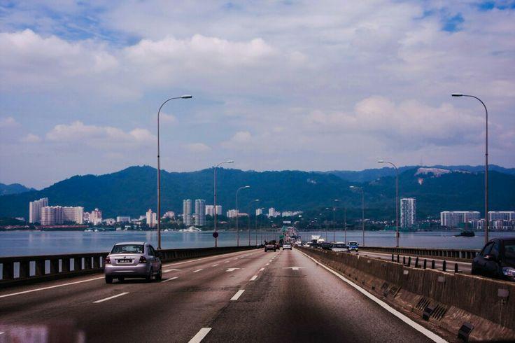 Connecting bridge to Penang