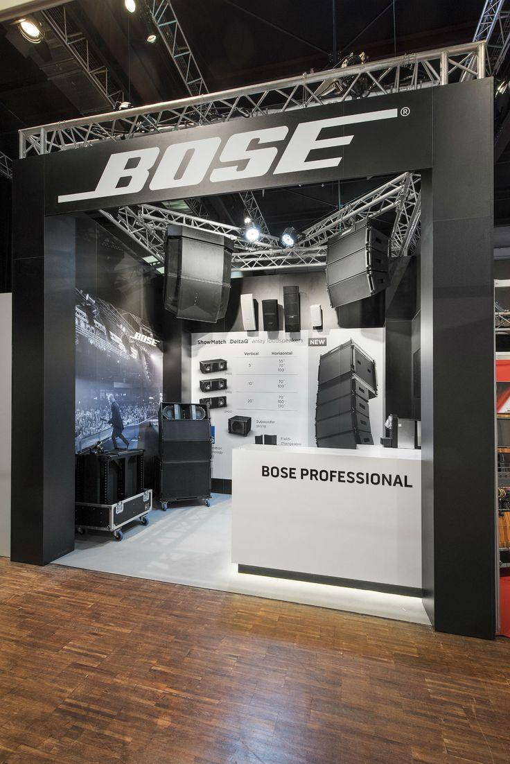 Conception stands d'exposition  Le génie du son BOSE fait honneur de sa présence sur le salon du JTSE 2016