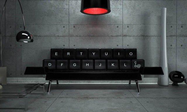 Qwerty Couch – Fubiz™