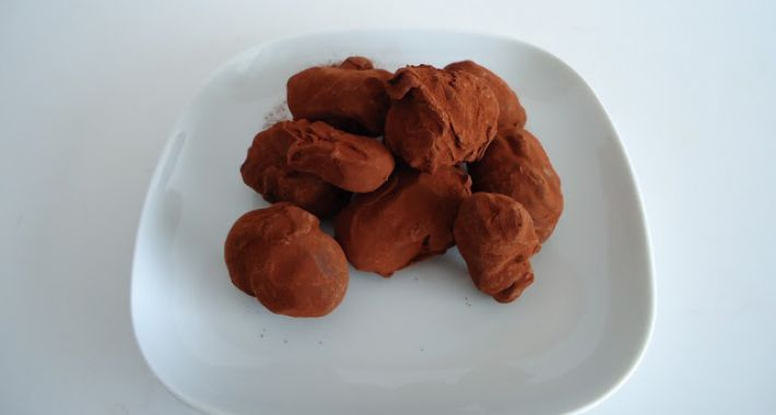 25 beste idee n over chocolade truffels op pinterest - Chocolade en witte badkamer ...
