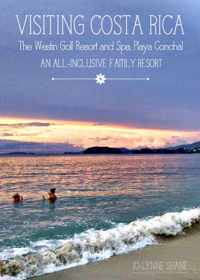 Where to Stay in Costa Rica: The Westin Golf Resort & Spa, Playa Conchal, Costa Rica. This all-inclusive family-friendly resort has it all... find out more about Costa Rica travel in this post: http://www.jolynneshane.com/the-westin-golf-resort-and-spa-playa-conchal.html