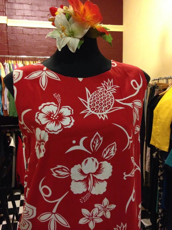 Vintage Hawaiian Cotton Sundress by Ui-Maikai (made in Hawaii) $110 from Nina's Vintage Closet. https://www.facebook.com/NinasVintageClothing