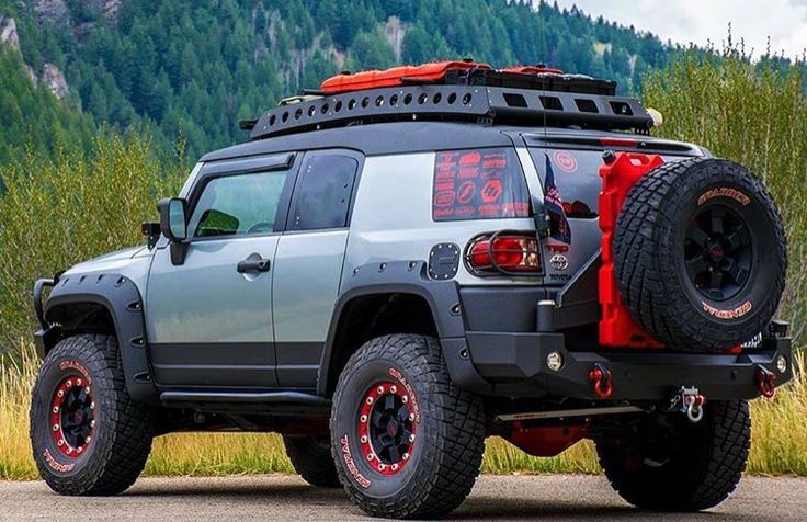 Dig that roof rack!