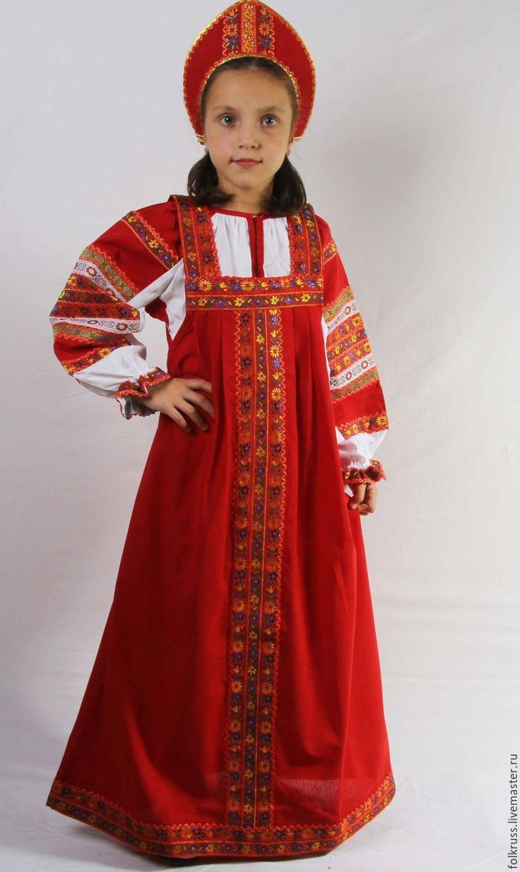 Купить или заказать Русский народный костюм Дуняша в интернет-магазине на Ярмарке Мастеров. Русский народный костюм Дуняша - состоит из блузы и сарафана, которые также можно носить по отдельности. Костюм Дуняша популярен в коллективах творческой самодеятельности и в качестве сувернира / подарка! Цены: Костюм фольк «Дуняша» (3 года) рост 98 см 1260-00 Костюм фольк «Дуняша» (4 года) рост 104 см 1360-00 Костюм фольк «Дуняша» (5 лет) рост 110 см 1450-00 Костюм фольк …