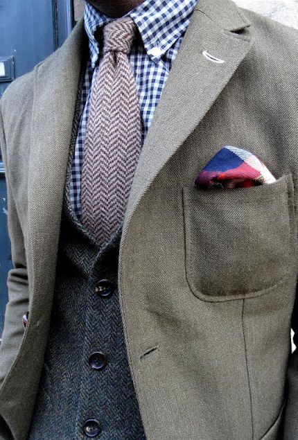 layering textures and patterns - for the bold of heart