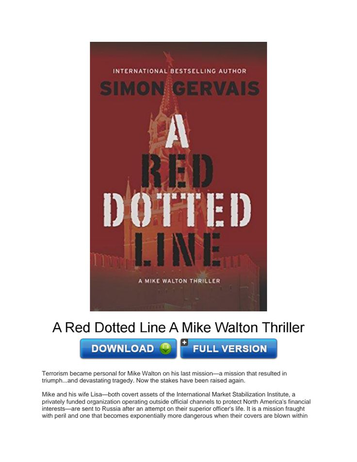 A Red Dotted Line A Mike Walton Thriller