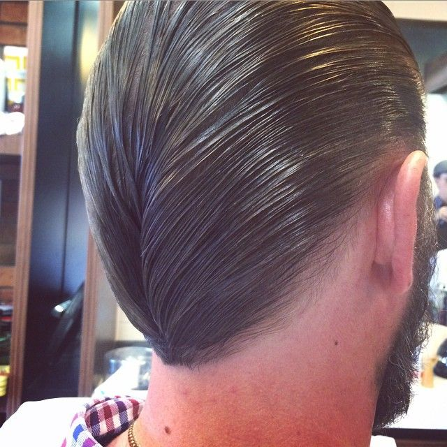 1000+ images about slick back hair on Pinterest Comb over, High fade ...