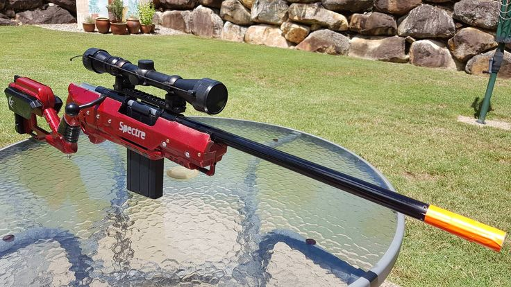 Spectre Armaments 300fps Nerf rifle