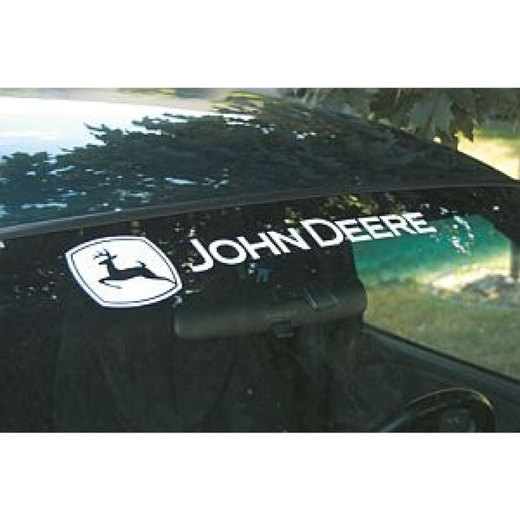 Best John Deere Stickers Ideas On Pinterest John Deere Party - Truck windshield decals how to purchase and get a great value safely