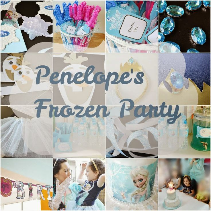 Craft Cook Love: Το Frozen Party μας - Our Frozen Party