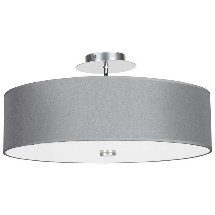 Plafon LAMPA sufitowa VIVIANE 6532 Nowodvorski chrom szary
