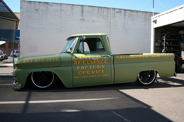 Chevy C-10 BAGGED TRUCK by new hobby 4 me, via Flickr