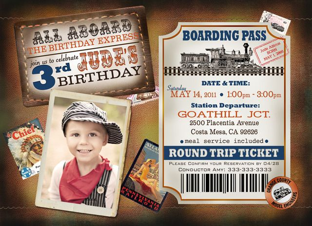 """Photo 2 of 23: Vintage Train Party / Birthday """"Jude's turns 3 Choo Choo"""" 