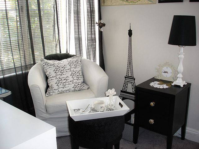 Personalised Paris: A Home Office Makeover 2. Find This Pin And More On Paris  Themed Living Room Ideas ... Part 24