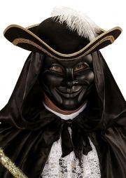 Maska MĘŻCZYZNA czarna