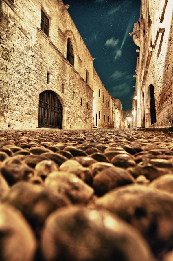 The knight's passage, the most important and well preserved street of  #Rhodes old town   #Greece
