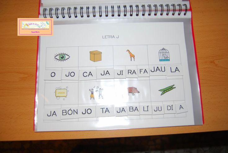 Carpeta de lectoescritura fase III: sílabas