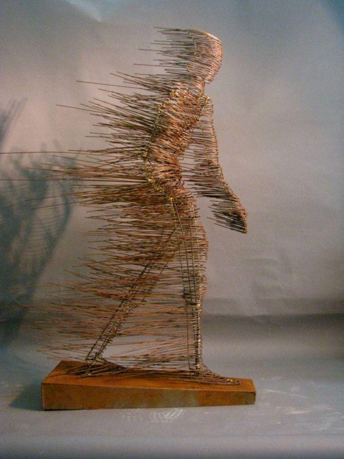 sculpture, steel, figure, contemporary art, welding,