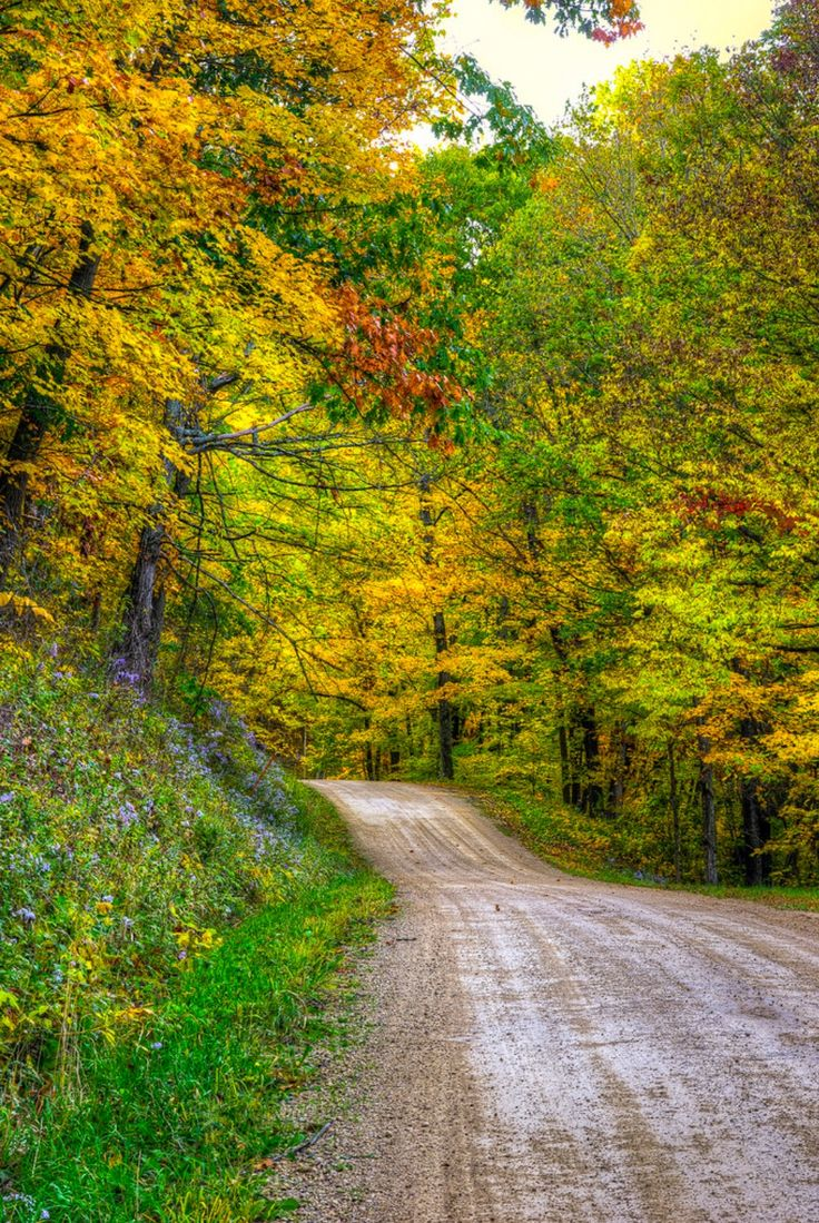 ***A colorful country drive (Wisconsin) by Marc Kohlbauer