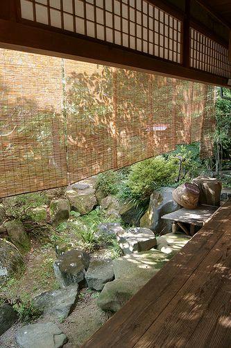 Gusti Alloh, karuniakan kulo griyo kados ngenten. Veranda (Japanese Architecture)