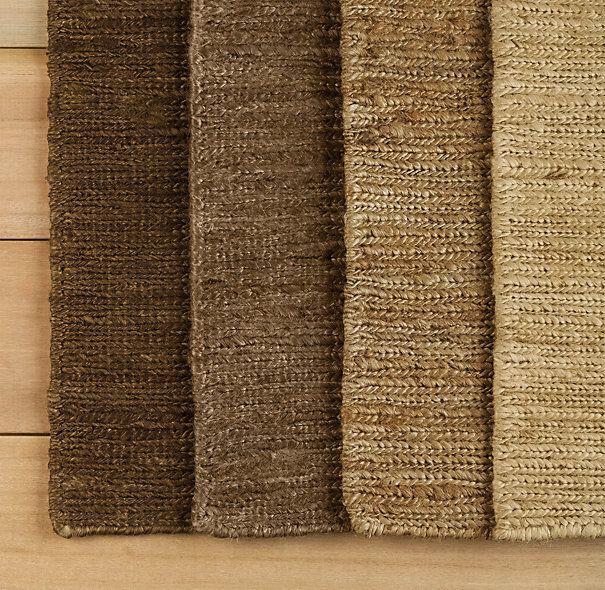 braided hemp rug restoration hardware 8 x10 595 9 x12 795