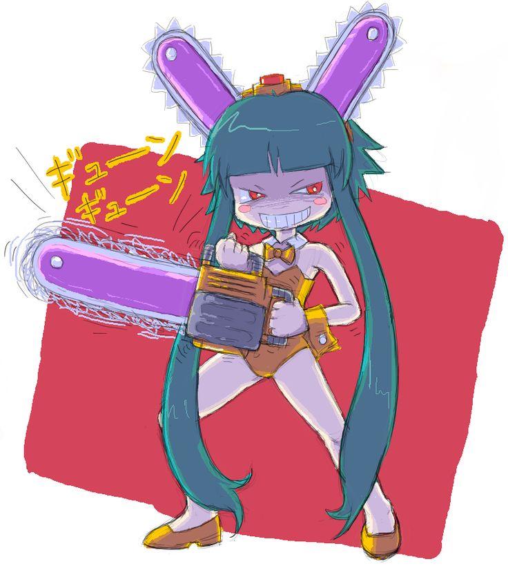 dennoko usagi by kouotsu.deviantart.com on @DeviantArt