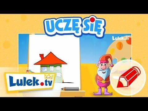 ▶ Jak narysować domek? - Szkółka Rysowania dla dzieci z Lulek.tv (cz.5) - YouTube