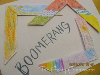 Learn about Australia and Aboriginal culture by making a boomerang!