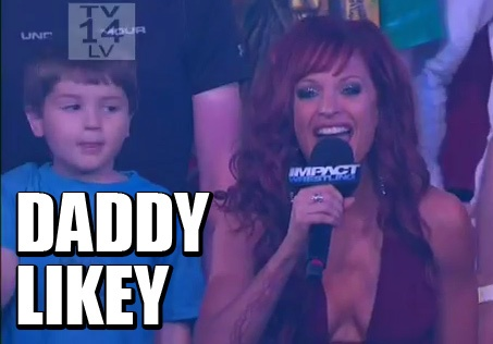 You're in the danger zone now    #wrestling #tna #impact #christy #hemme
