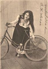 bicykle girl  1902 (H A T S C H I B R A T S C H I) Tags: old woman girl bike bicycle vintage bicycling women femme rad 1900 oldphoto oldtimer biker 1910 velo fahrrad bicykle vintagephoto vintagebicycle fotographie waffenrad veloancien oldtimerfahrrad fahrradoldtimer