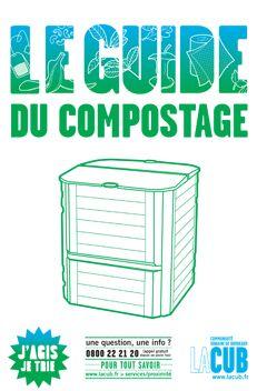 COMPOSTAGE - BORDEAUX METROPOLE : la CUB offre régulièrement des composteurs individuels et des bio-seaux pour inciter la population à adopter cette pratique écologique et améliorer ainsi son impact environnemental. En ligne, le Guide du compostage (Pdf).