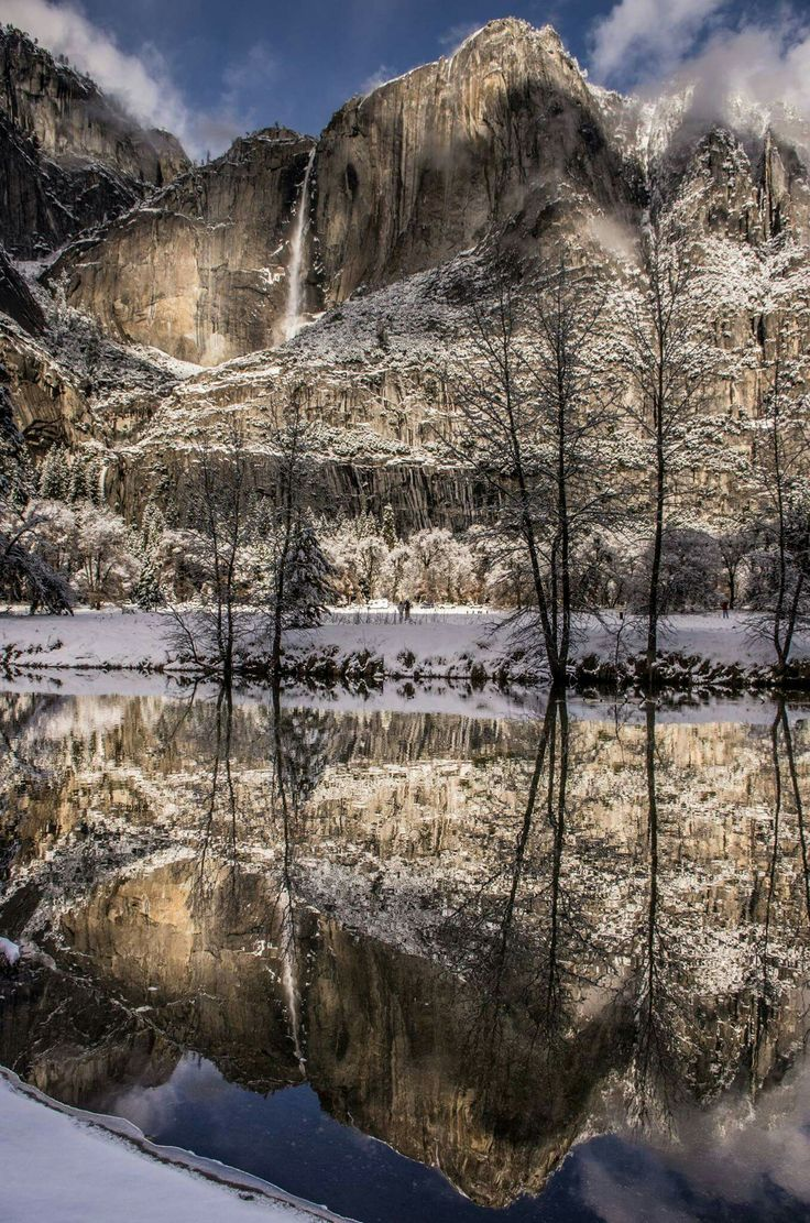 It Is A Magical Time To Visit Yosemite National Park In California The Silence And Beauty Of Winter At An Unforgettable Experience As