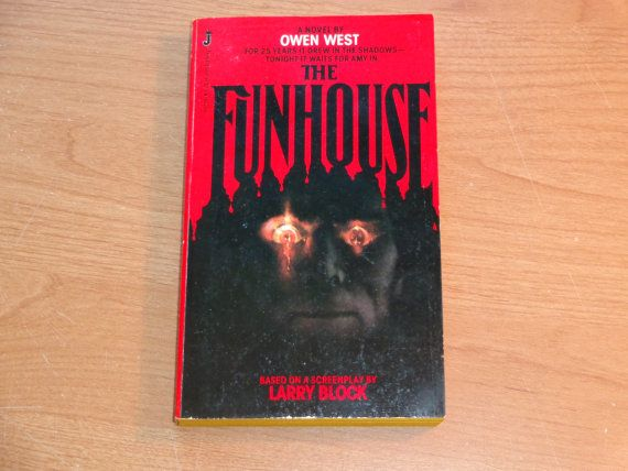 Vintage Horror Paperback The Funhouse by by TreasureTroveBooks