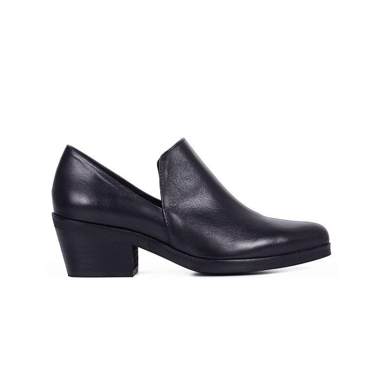 Tapico black leather | Lintervalle